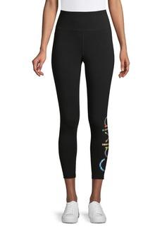 Calvin Klein Performance Logo Pull-On Leggings