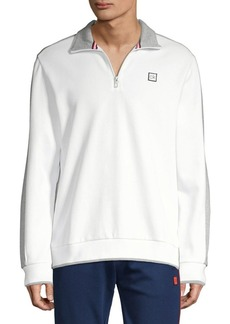 Calvin Klein Performance Logo Quarter-Zip Sweatshirt