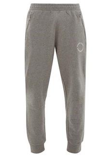 Calvin Klein Performance Logo-roundel cotton track pants
