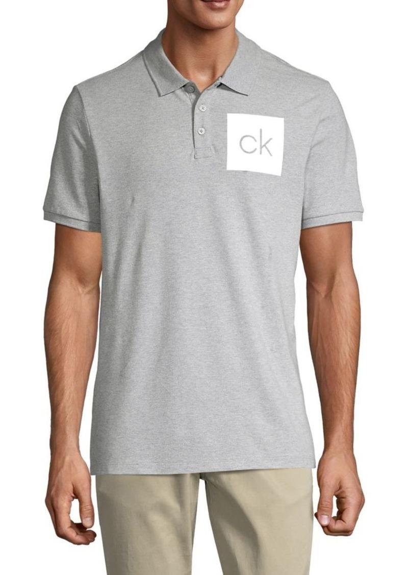 Calvin Klein Performance Logo Short-Sleeve Polo