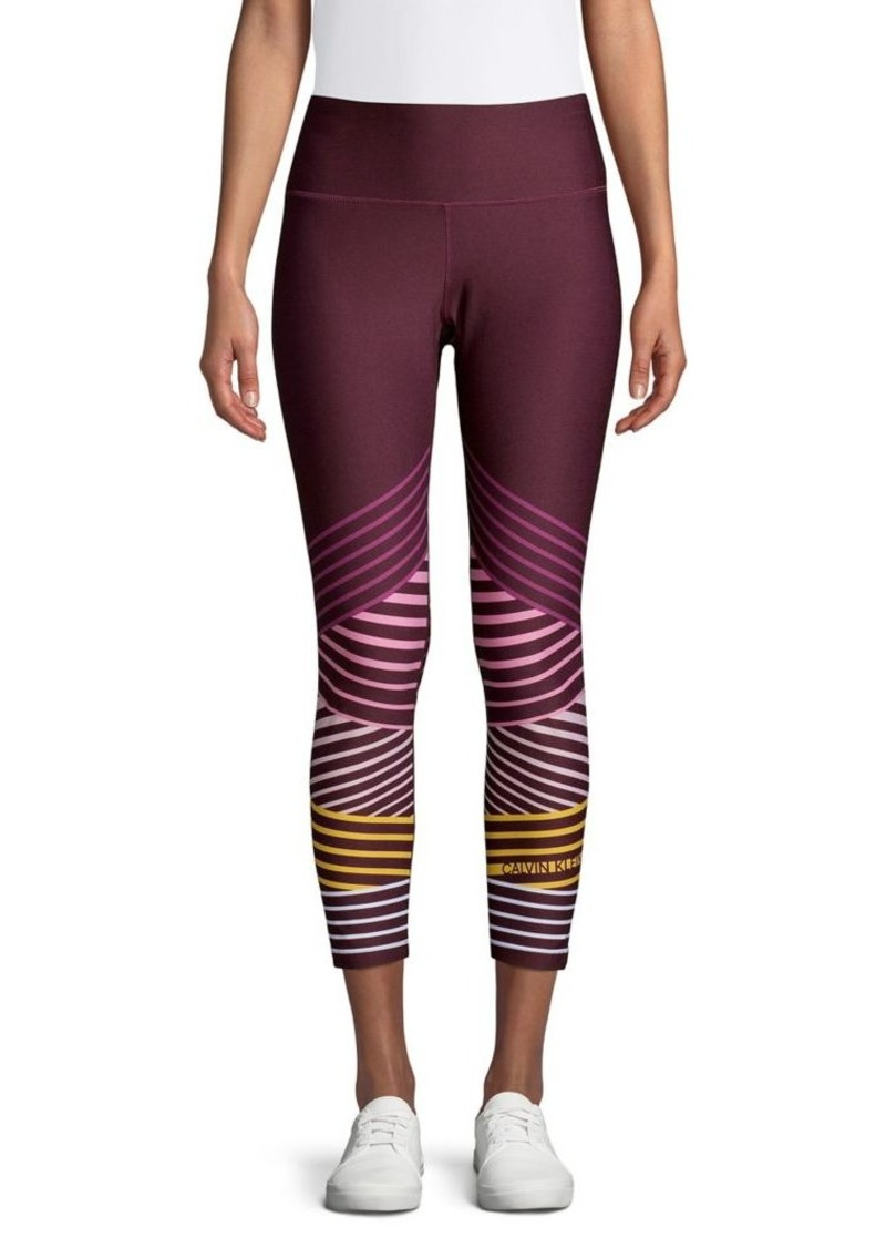 Calvin Klein Performance Logo Stripe Leggings