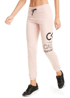 Calvin Klein Performance Logo Sweatpants