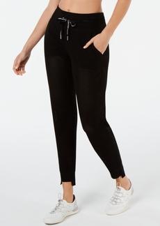 Calvin Klein Performance Mesh Step-Hem Pants
