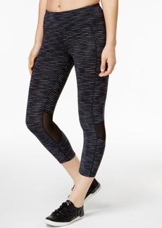 Calvin Klein Performance Miramar Striped Cropped Leggings
