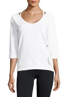 Calvin Klein Performance Monogrammed Sweatshirt