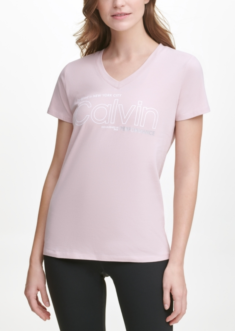 Calvin Klein Performance Nyc Logo T-Shirt
