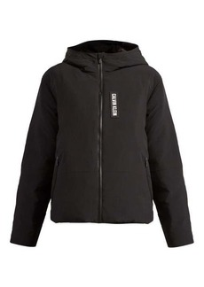 Calvin Klein Performance Padded down-filled zip-through jacket