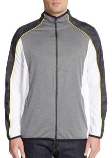 Calvin Klein Performance Paneled Track Jacket