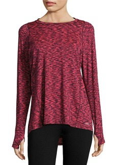 CALVIN KLEIN PERFORMANCE Patterned Athletic Top