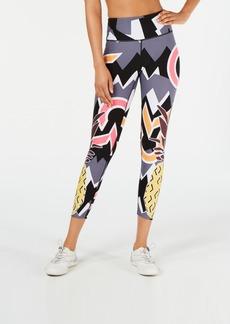 Calvin Klein Performance Pineapple-Print High-Waist Leggings