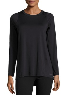 CALVIN KLEIN PERFORMANCE Pleated Back Performance Top