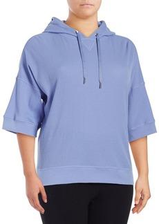 Calvin Klein Performance Plus Bell-Sleeve Hoodie