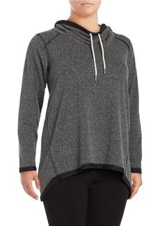 CALVIN KLEIN PERFORMANCE PLUS Plus Cowlneck Performance Sweatshirt