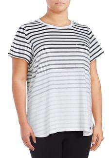 Calvin Klein Performance Plus Striped Tee