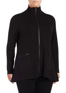 Calvin Klein Performance Plus Sharkbite Zip-Up Jacket