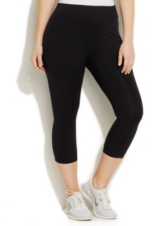 Calvin Klein Performance Plus Size Capri Leggings