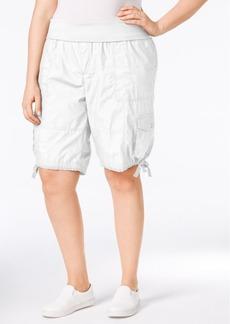 Calvin Klein Performance Plus Size Cargo Shorts