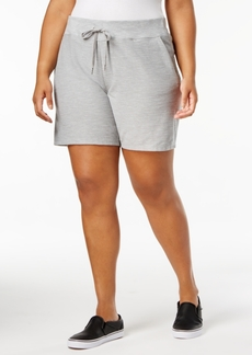 Calvin Klein Performance Plus Size Cuffed Shorts