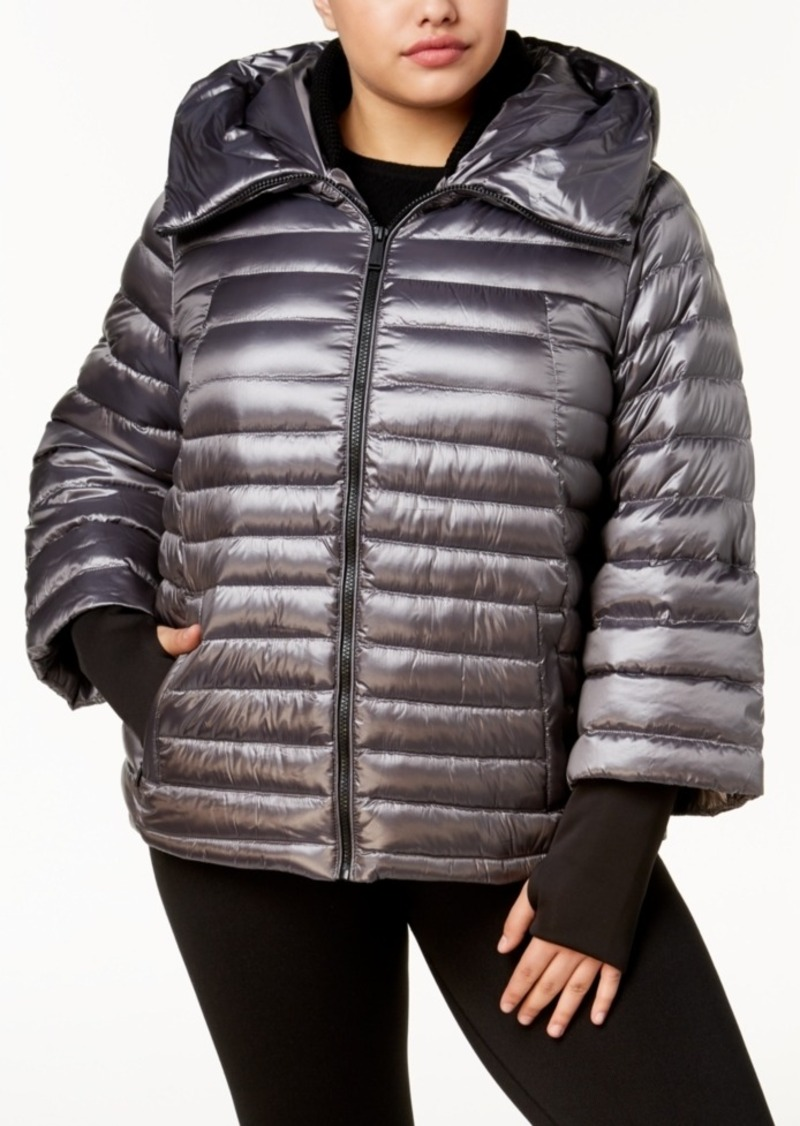 9eb3269db3b Calvin Klein Calvin Klein Performance Plus Size Hooded Puffer Jacket ...