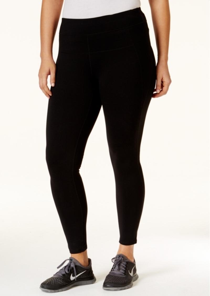98ceebd1c95b32 Calvin Klein Calvin Klein Performance Plus Size Leggings Now $21.03