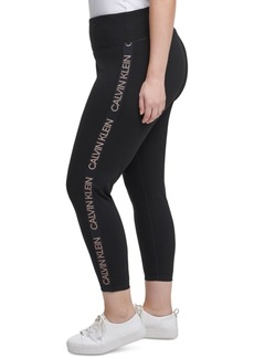 Calvin Klein Performance Plus Size Logo Leggings