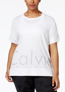 Calvin Klein Performance Plus Size Logo T-Shirt