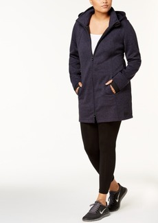 Calvin Klein Performance Plus Size Melange Walker Jacket