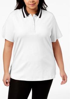 Calvin Klein Performance Plus Size Polo