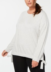 Calvin Klein Performance Plus Size Side-Tie Top