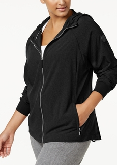 Calvin Klein Performance Plus Size Zip Hoodie