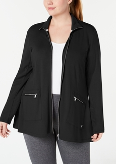 Calvin Klein Performance Plus Size Zip Jacket