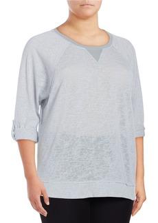 CALVIN KLEIN PERFORMANCE PLUS Textured Active Sweatshirt