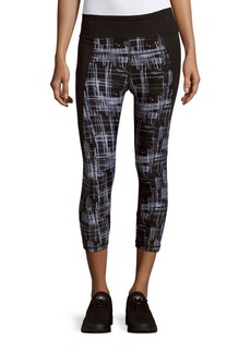 Calvin Klein Performance Printed Cropped Leggings