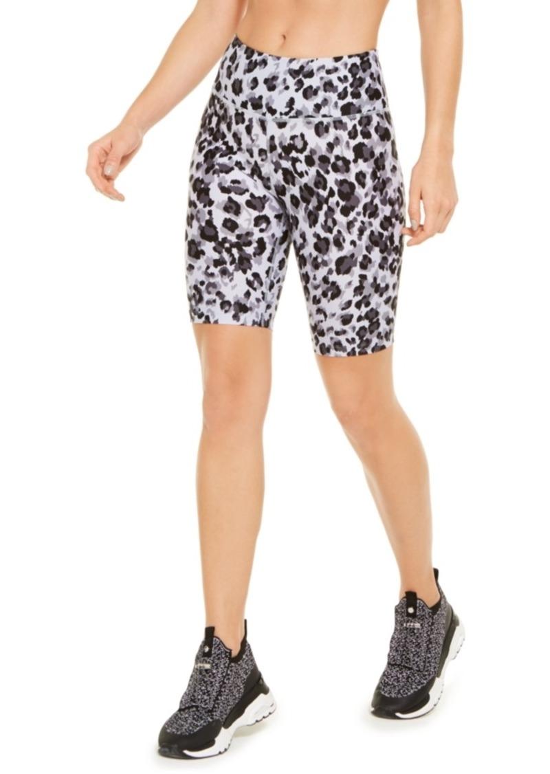 Calvin Klein Performance Printed High-Waist Bike Shorts