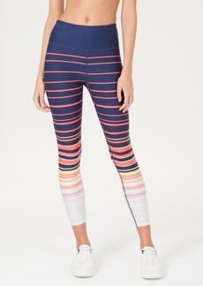 Calvin Klein Performance Printed High-Waist Cropped Leggings