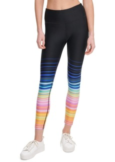 Calvin Klein Performance Printed High-Waist Leggings