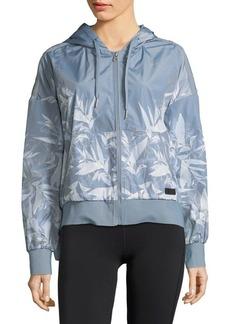 Calvin Klein Performance Printed Hooded Jacket
