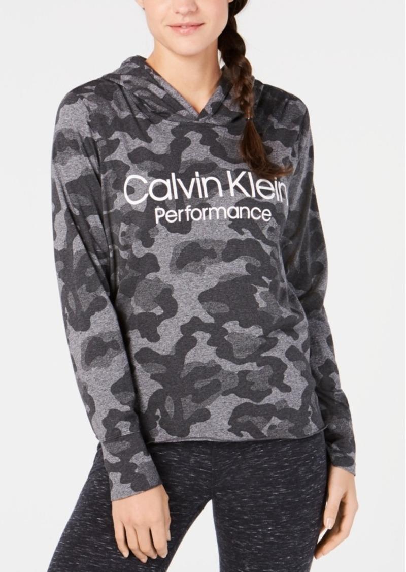 Calvin Klein Performance Printed Logo Hoodie