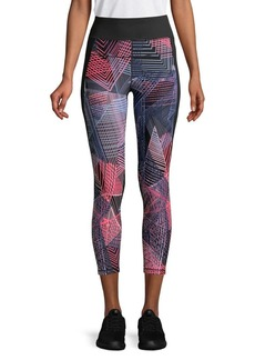 Calvin Klein Performance Printed Stretch Leggings