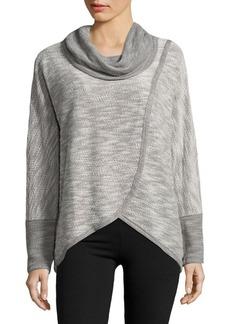 Calvin Klein Performance Puff Knit Tulip Sweatshirt
