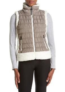 Calvin Klein Performance Puffer Vest Sherpa Trim Vest