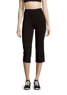 Calvin Klein Performance Pull-On Cotton Cropped Pants