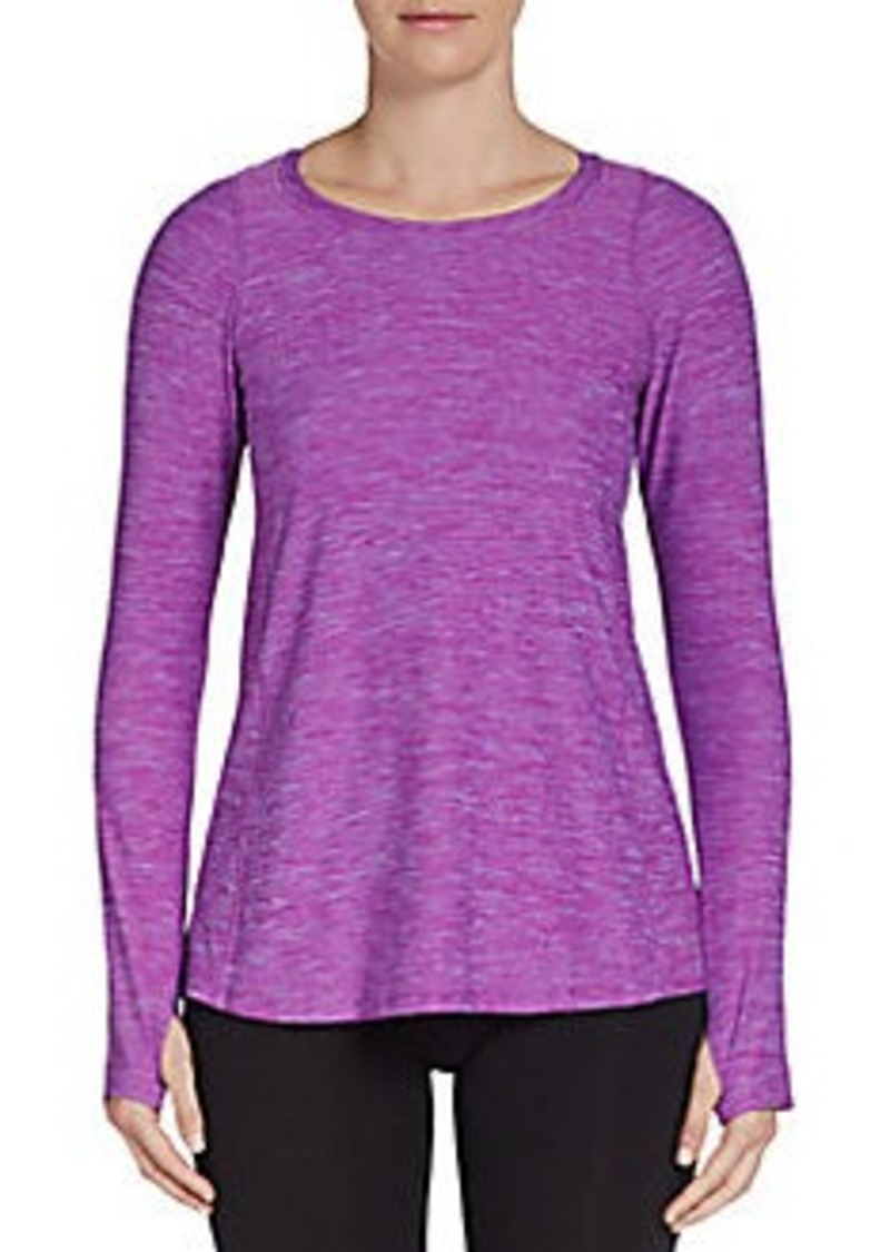 Calvin Klein Performance Quick-Dry Flared Top