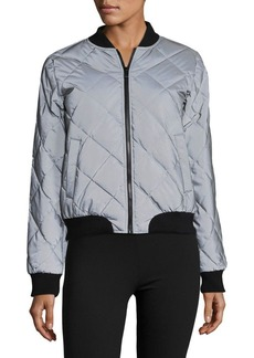 Calvin Klein Performance Quilted Bomber Jacket