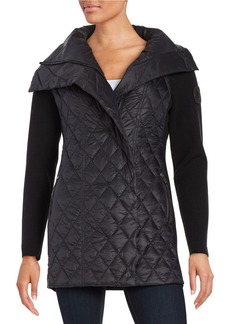 CALVIN KLEIN PERFORMANCE Quilted Down Contrast Jacket
