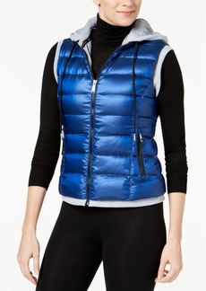 Calvin Klein Performance Quilted Hooded Vest