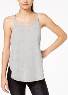Calvin Klein Performance Racerback Split-Hem Tank Top