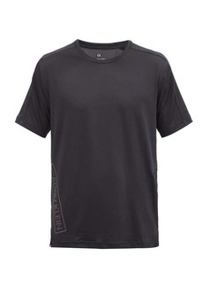 Calvin Klein Performance Reflective logo-print technical T-shirt