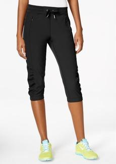 Calvin Klein Performance Ruched Capri Pants