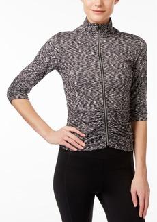 Calvin Klein Performance Ruched Zip Jacket